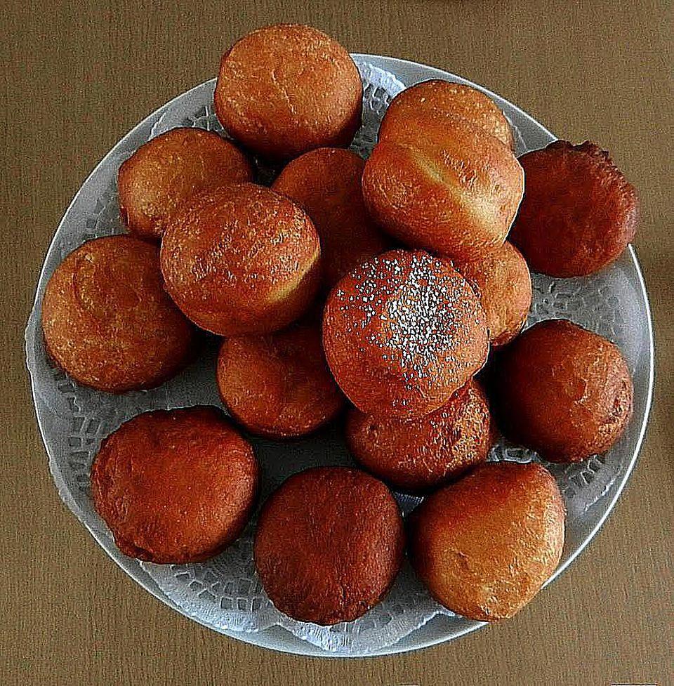 Magwinya Doughnuts On Table Vladimir Nykl