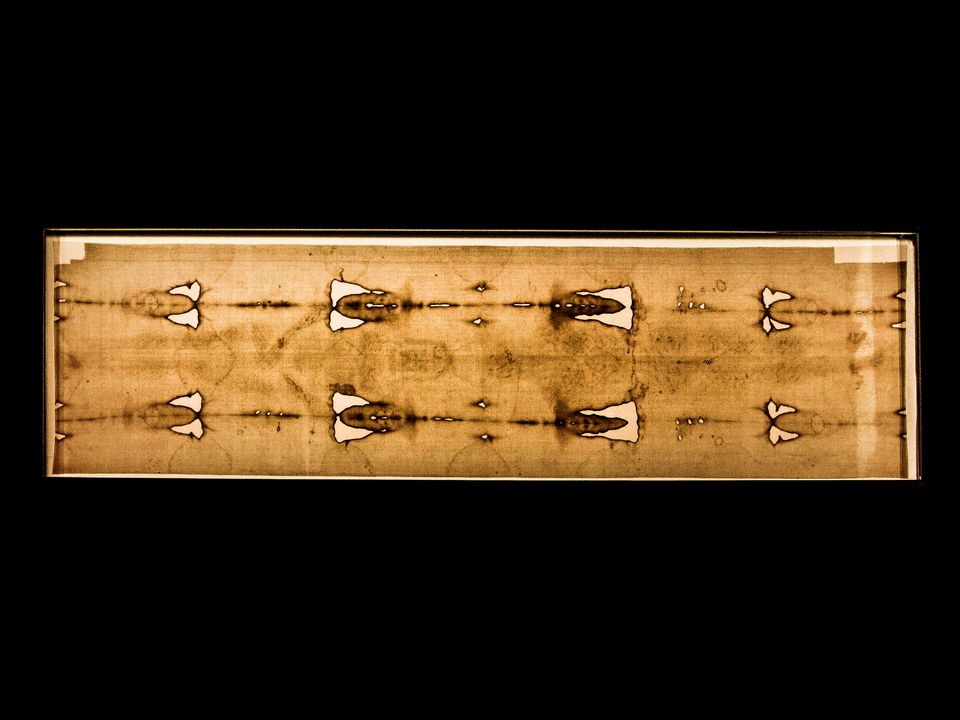 Holy shroud of Turin in Piedmont, Italy