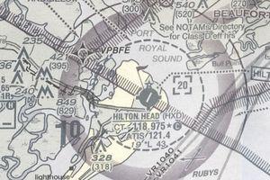 Hilton Head on map