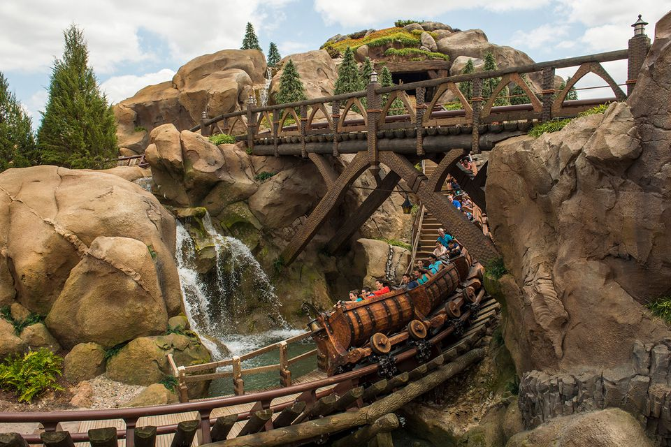 Seven Dwarfs Mine Train Disney World