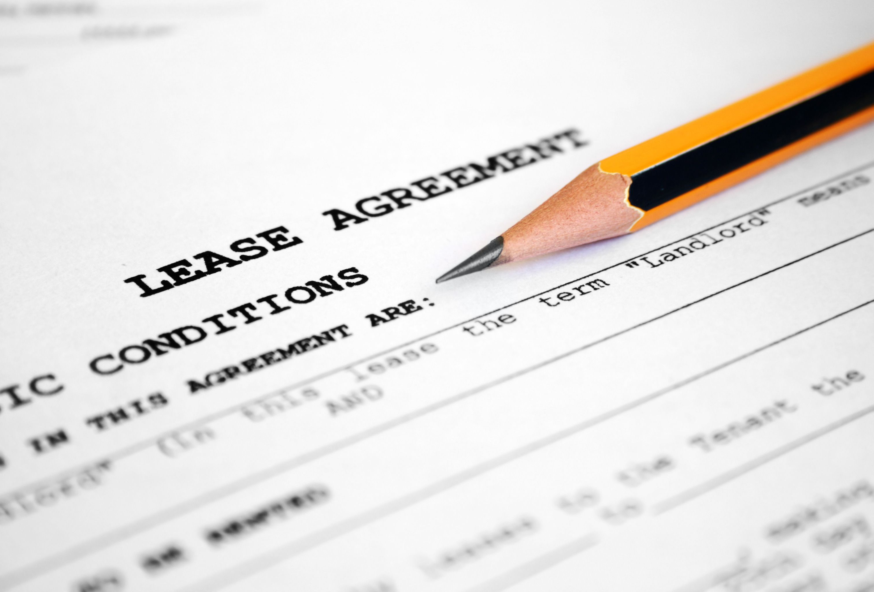 10 Year Lease Agreement and Commercial Lease Red Flags – Commercial Lease