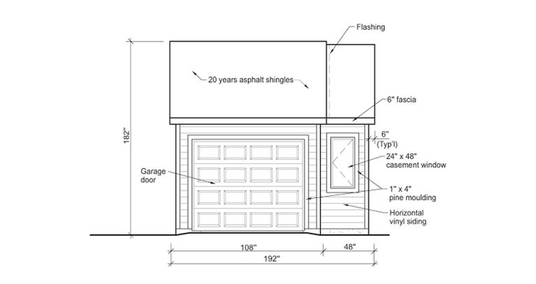 9 free plans for building a garage for Draw garage plans online free
