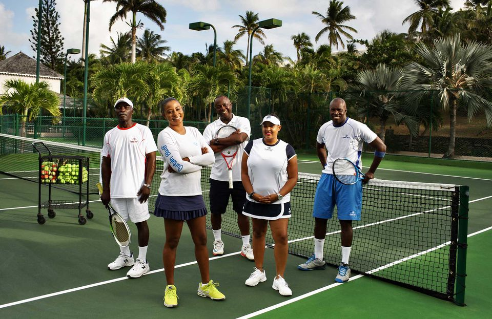 Tennis at Curtain Bluff