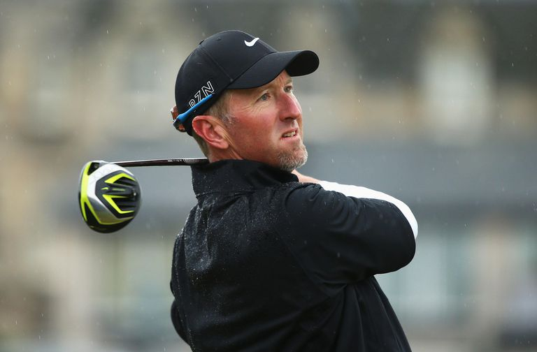 Golfer David Duval photographed during the 2015 British Open