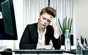 Tired Business Woman