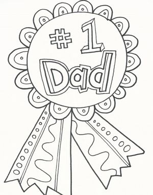 177 Free, Printable Father\'s Day Coloring Pages
