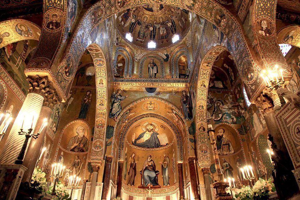 Cappella Palatina in the Palazzo dei Normanni.