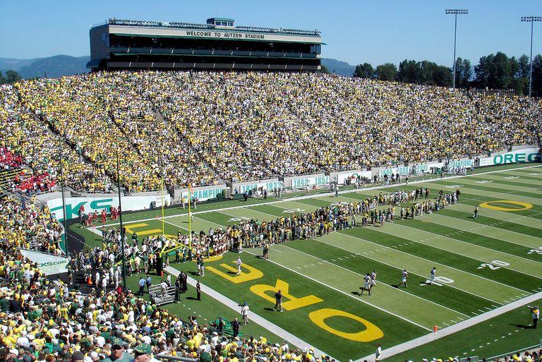 University of Oregon Football Stadium