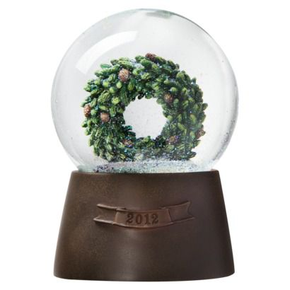 Water Globe Wreath from Target