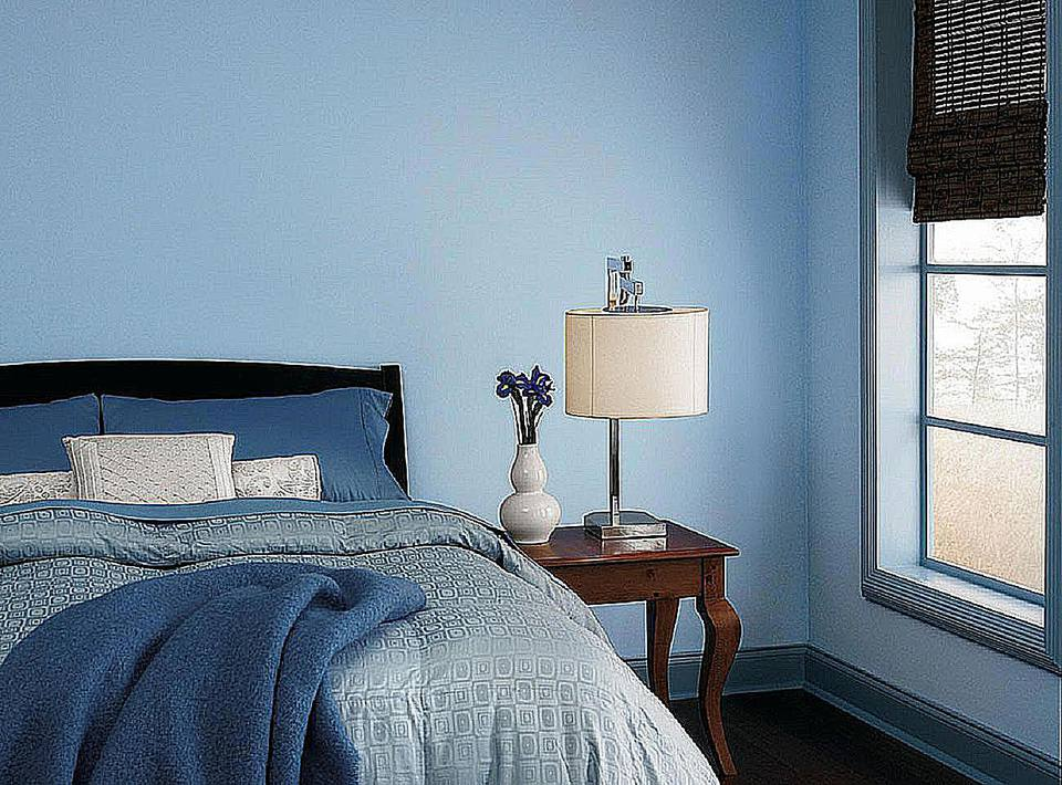 the 10 best blue paint colors for the bedroom 14517 | missoula blue dutchboy 58ad78825f9b58a3c9784e4d