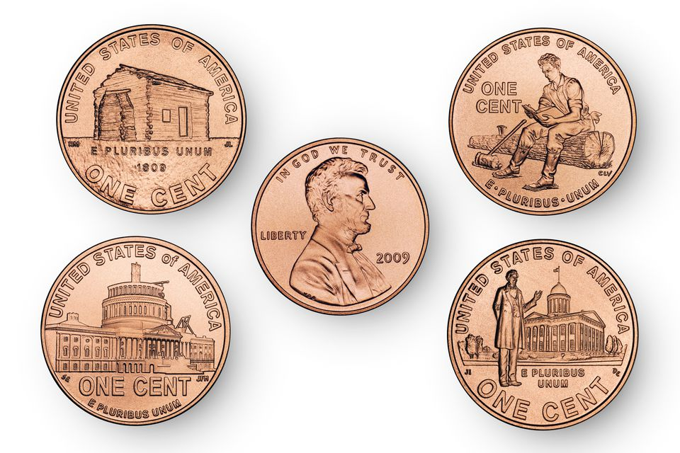 2009 Lincoln Bicentennial Pennies