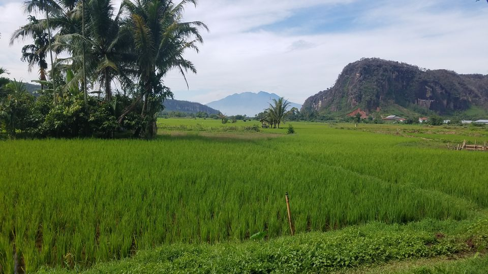 Harau Valley in West Sumatra