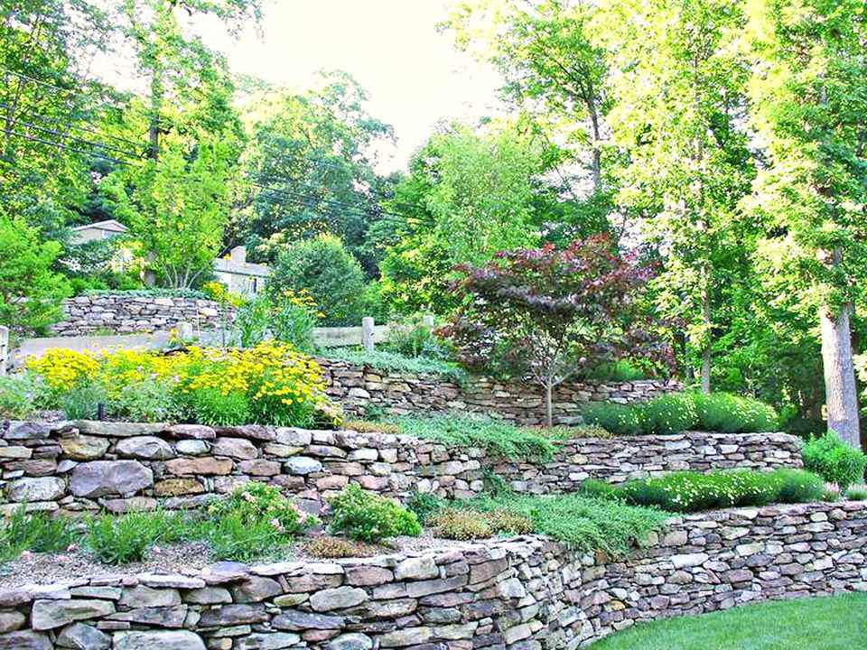 13 Hillside Landscaping Ideas to Maximize Your Yard on Sloping Garden Ideas id=37517