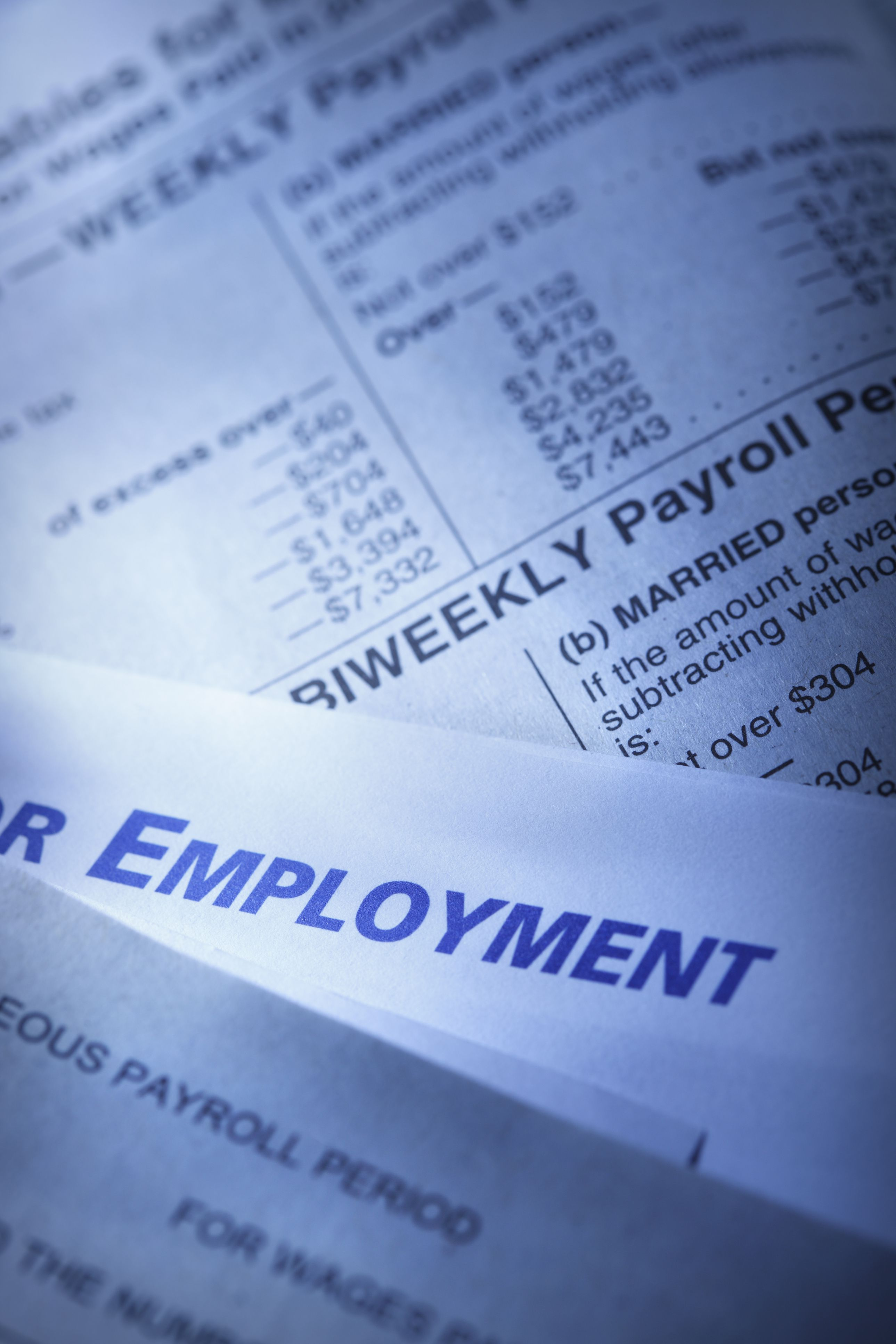 Tax Year for End of Year Employee Paychecks