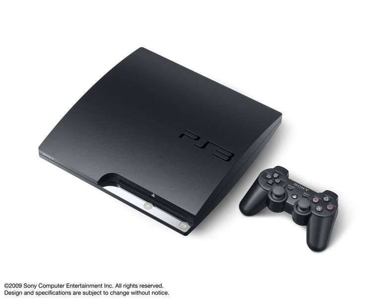 PS3 Slim (CECH-2000A) - DualShock 3