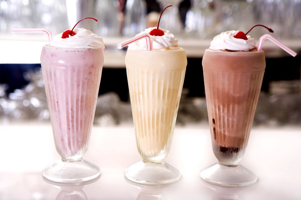 Milkshake trio