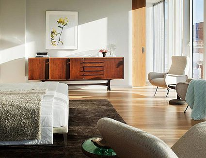 Contemporary  Midcentury Modern and Minimalist Decor  What s the Difference. Beautiful Minimalist Bedrooms