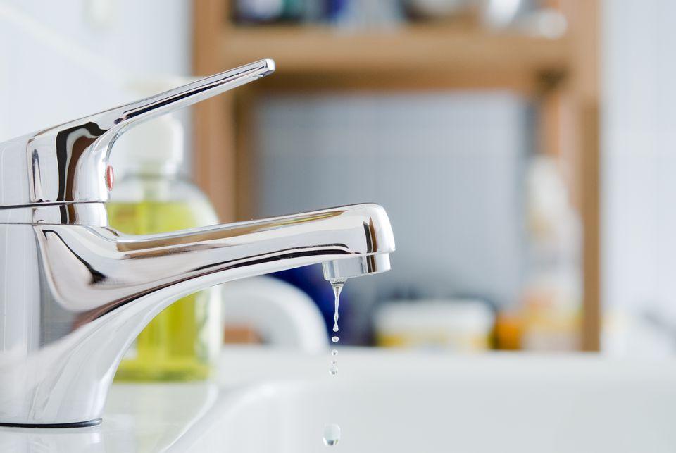 Bathroom faucet leak