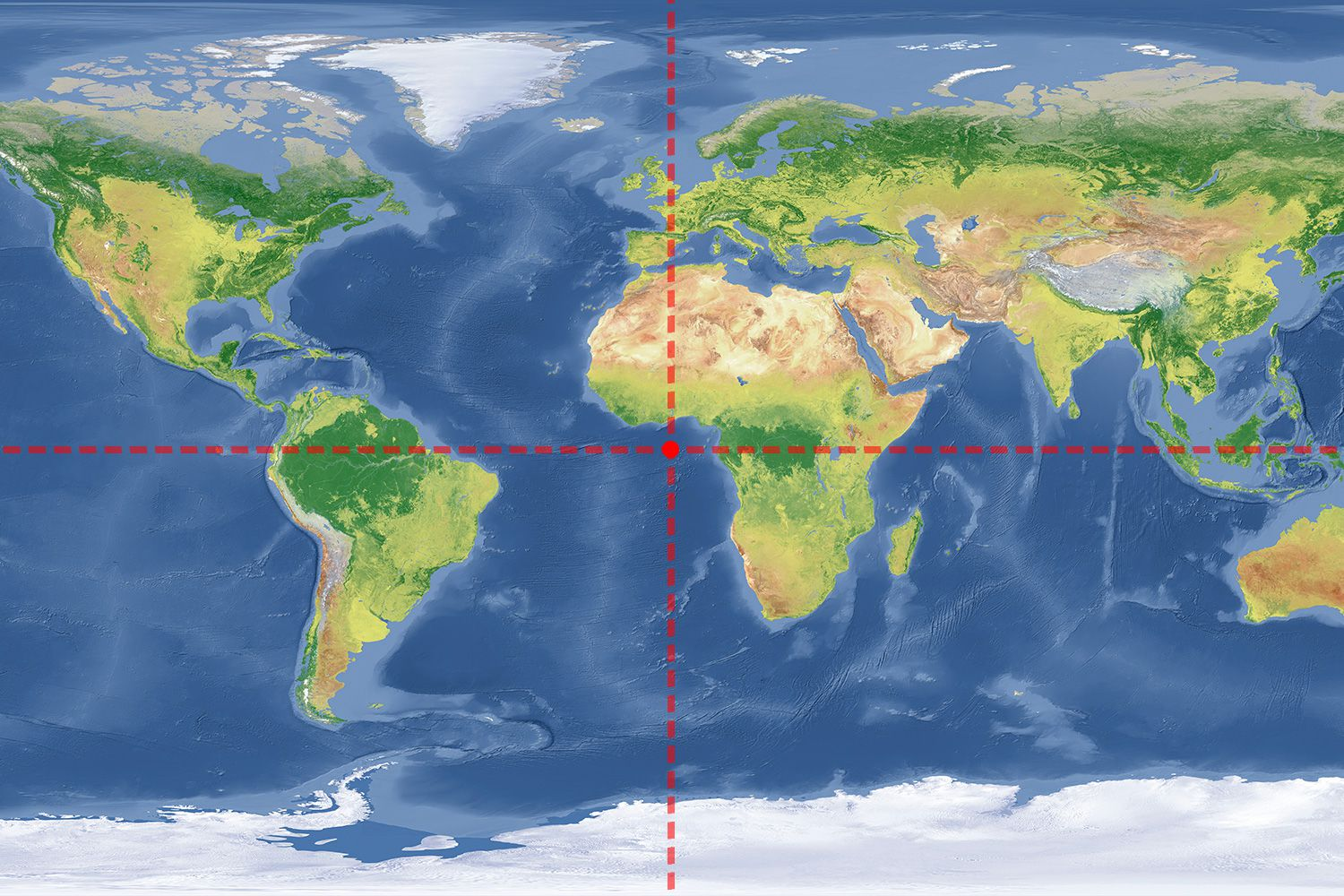 How Far Is It Between Lines Of Latitude And Longitude - Latitude map world