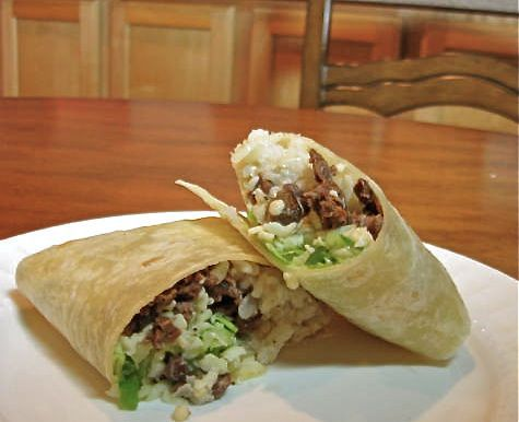 Beef Wrap Sandwiches