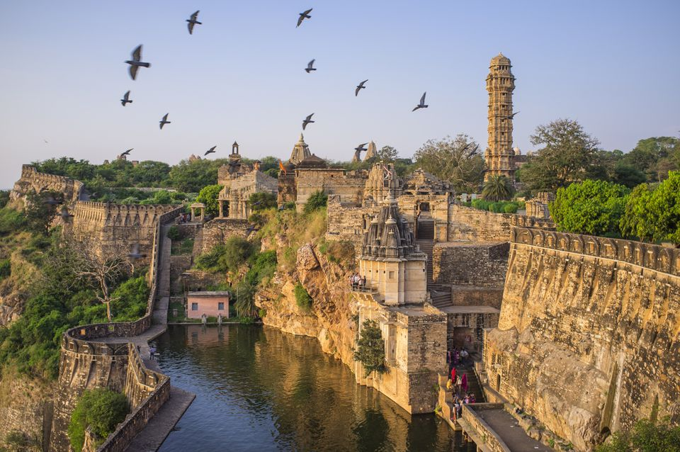 Chittorgarh Fort and Padmini Palace, Rajasthan