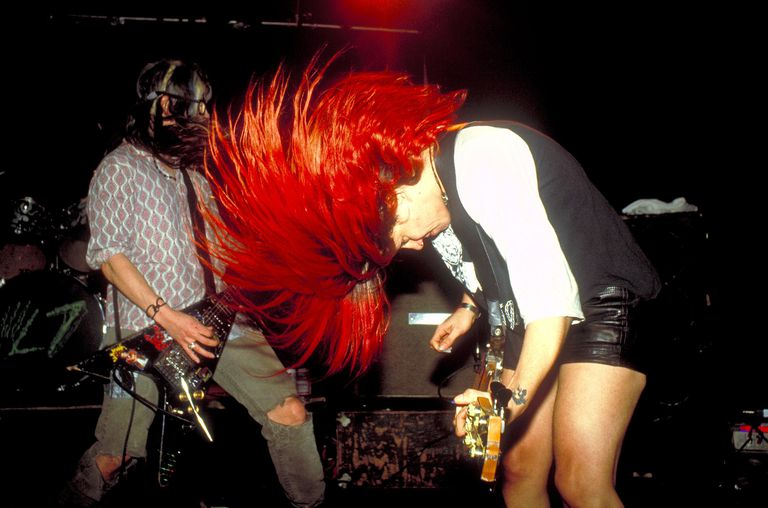 L-7 in Concert at Marquee - 1992