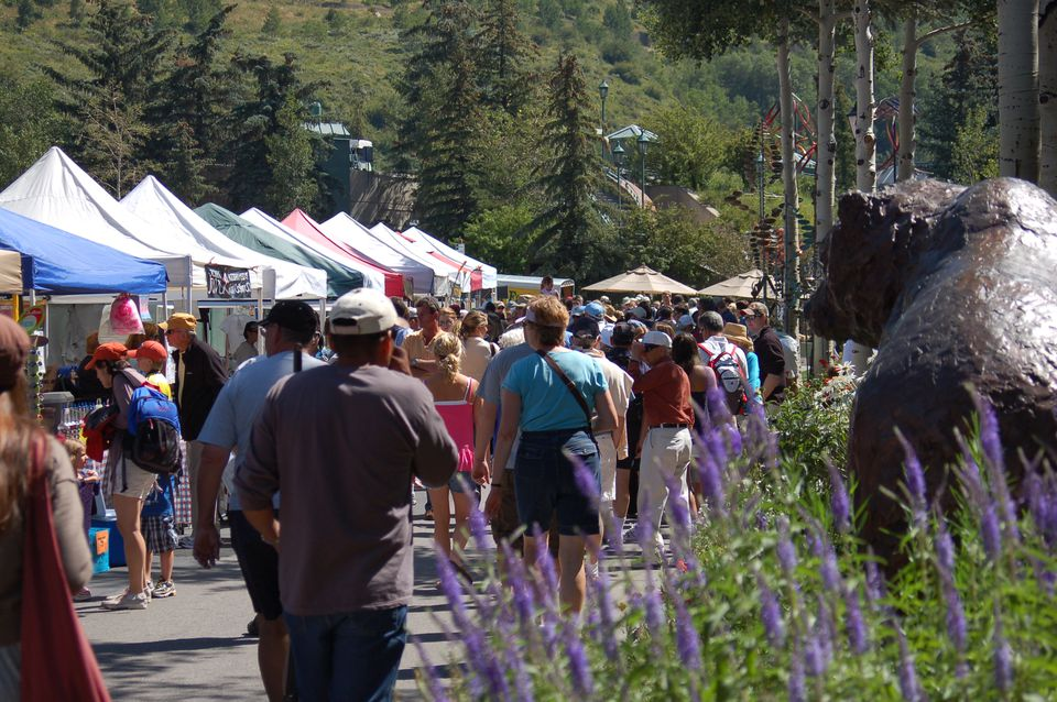 Image of Vail Farmers Market Tents