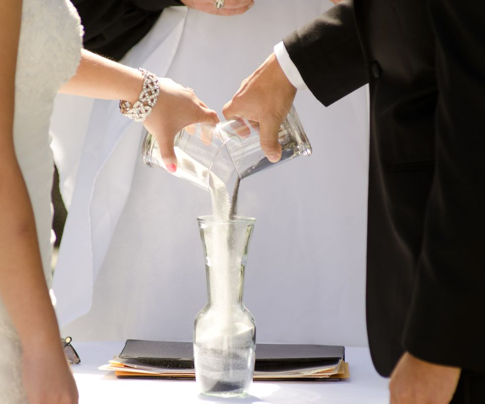 How A Wedding Sand Ceremony Works