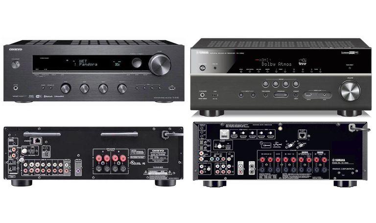 Onkyo TX-8140 Stereo Receiver vs Yamaha RX-V683 Home Theater Receiver