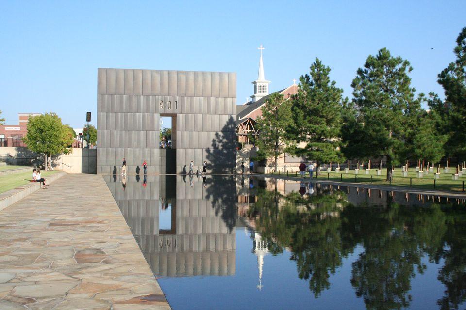 The Oklahoma City Memorial in Oklahoma City.