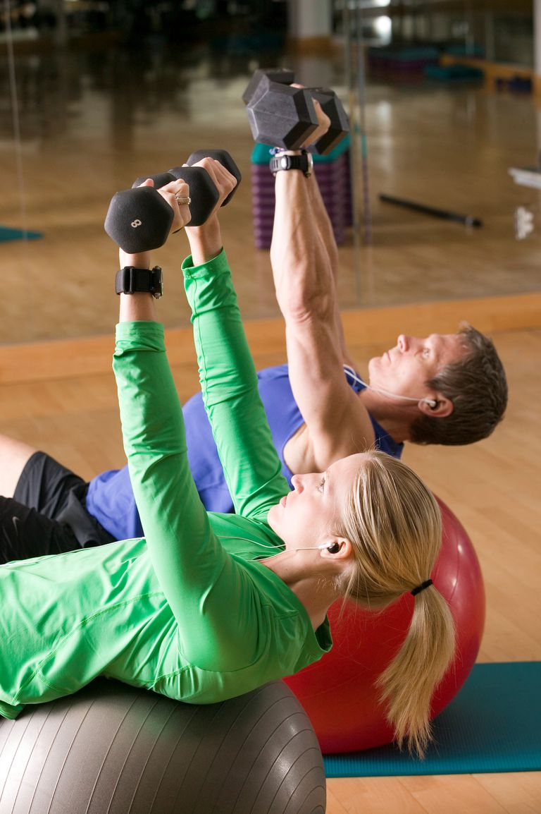 Strength training with weights