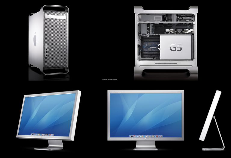Apple Cinema Display and Power Mac G5
