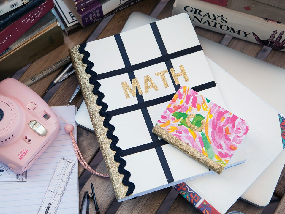 Math Book Cover Diy : Ways to decorate a notebook