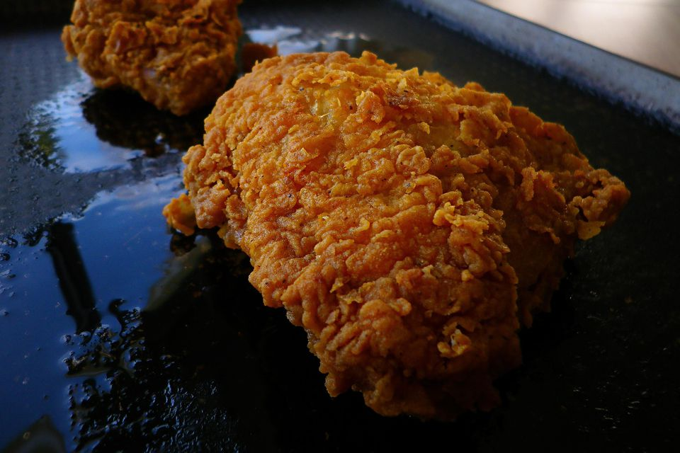 Crispy Grilled Chicken