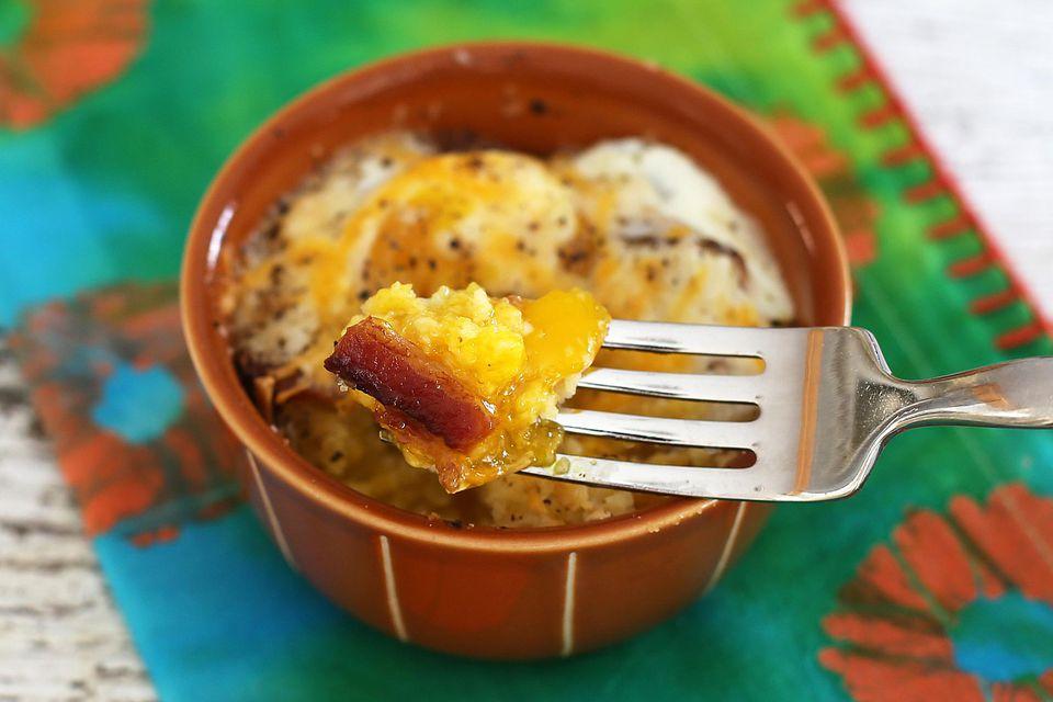 Egg, Bacon, and Cornbread Bake