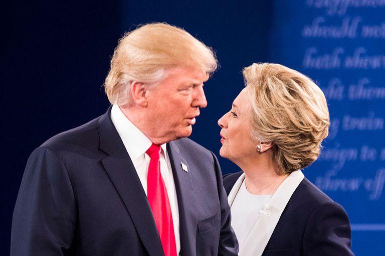 Trump vs Clinton 2016