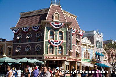 Main Street at Disneyland, CA
