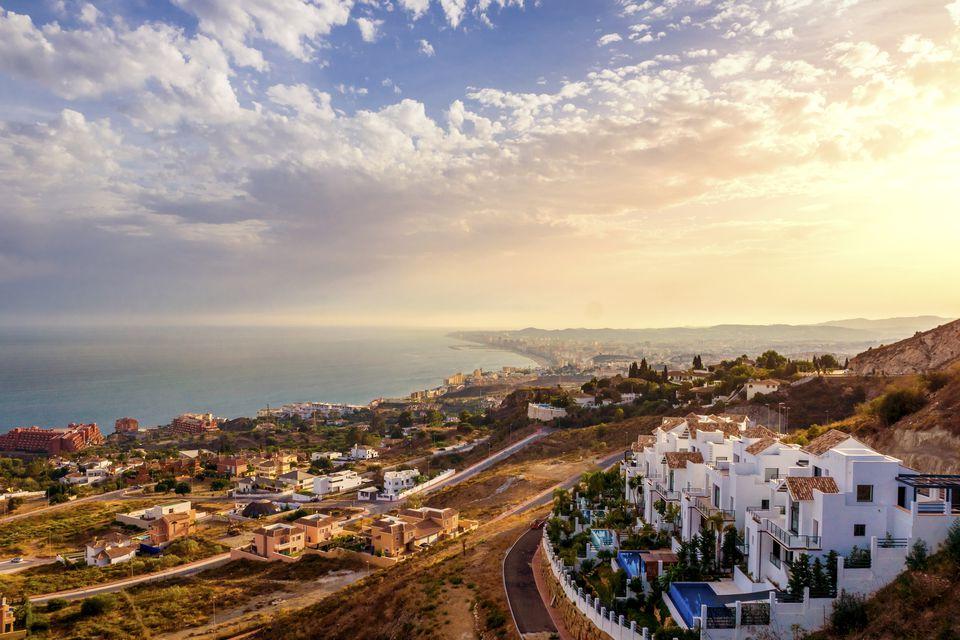 Spain, Andalusia, Malaga Province, Marbella, Panorama