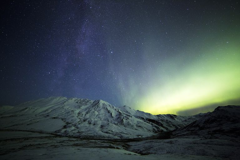 Northern Lights and the Milky Way