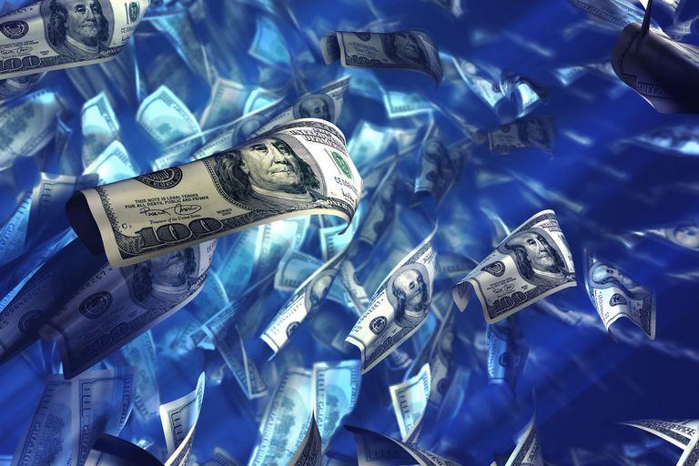 sinking dollars