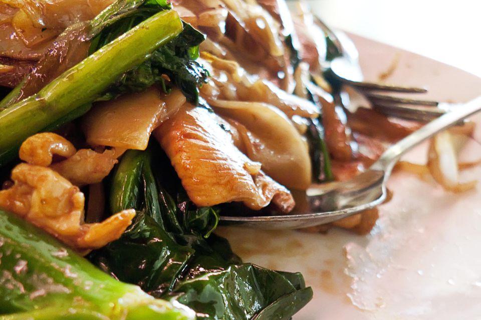 Chicken & Chinese Broccoli