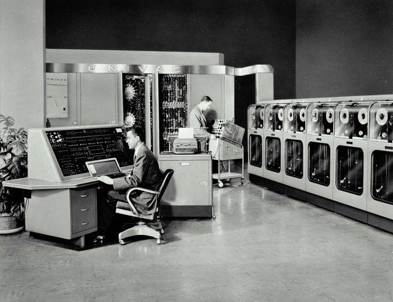 Photo of UNIVAC