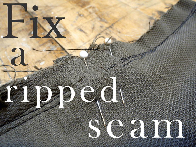 Fix a Ripped Seam