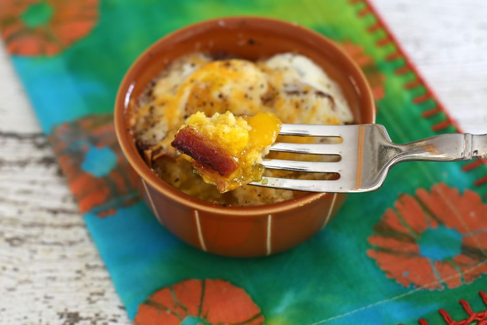 Cornbread,Bacon, and Egg Casserole