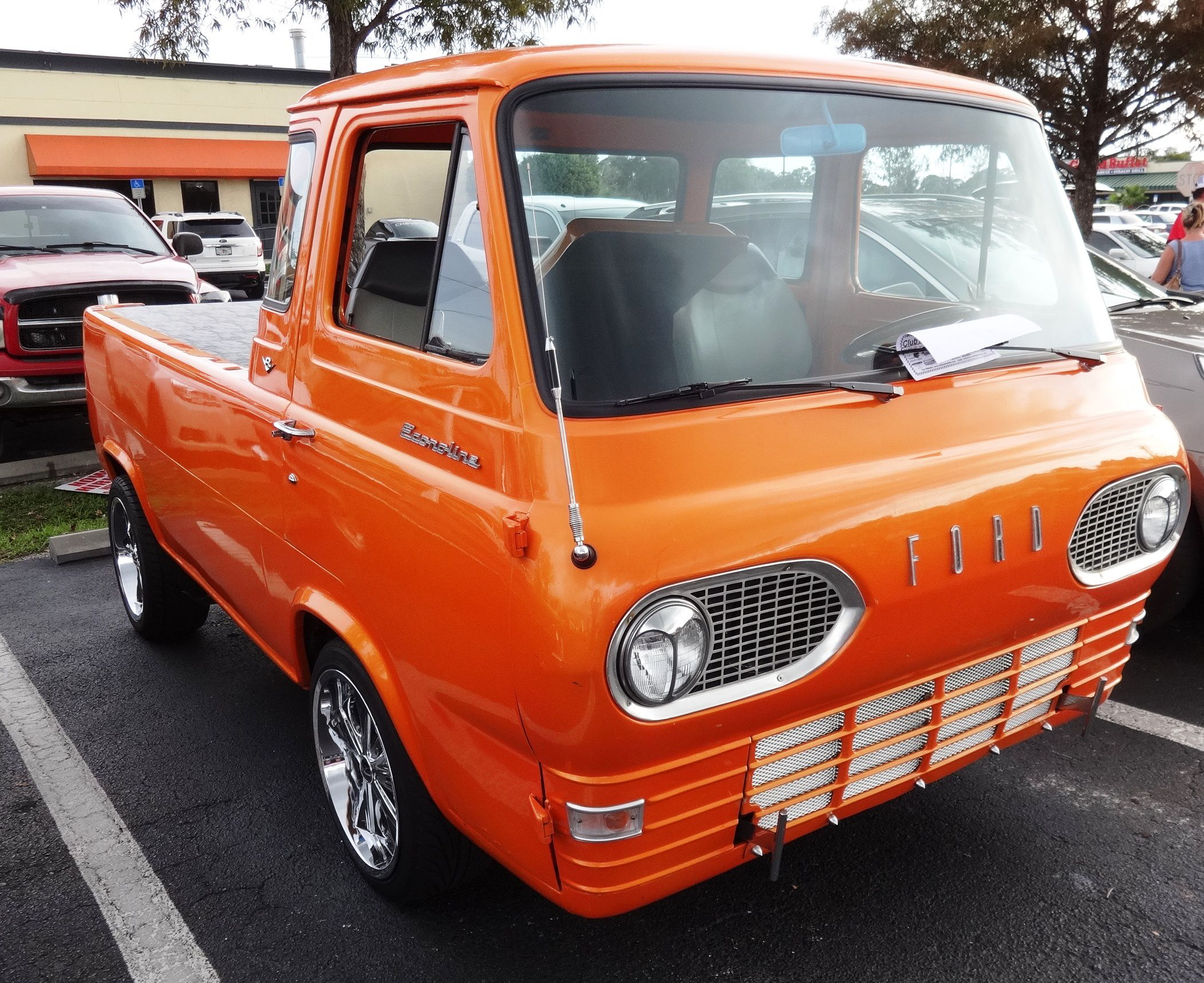 First Generation Ford Econoline Pickup