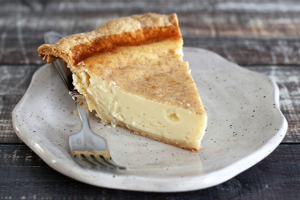 Classic Egg Custard Pie