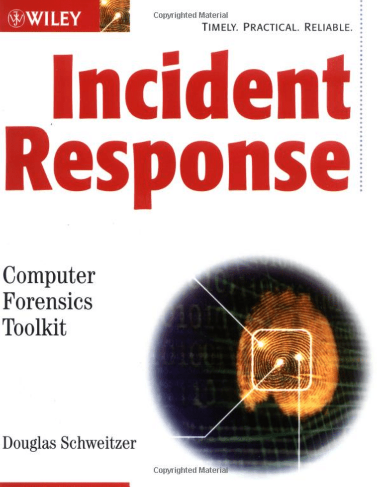 Incident Response book cover