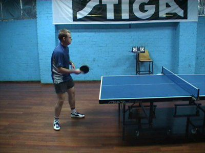 how to return a spin serve in table tennis