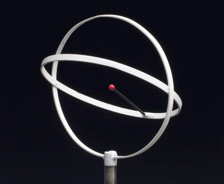 Model of an helium atom