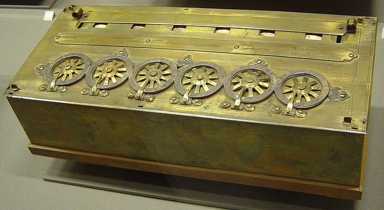 Pascaline, an early calculator